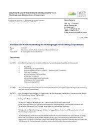 Protokoll zur Wahlversammlung der Bezirksgruppe ... - LiTG