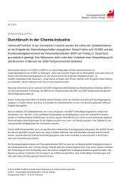 Medieninformation 06.11.2011 - IG BCE - HALLE-MAGDEBURG