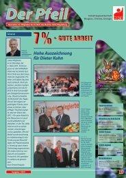 7%+ GUTE ARBEIT - IG BCE - HALLE-MAGDEBURG