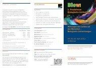 1. Praxisforum Biologische Lichtwirkung - LiTG