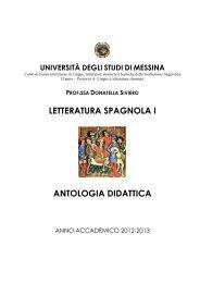 Antologia 2012-2013 - Università degli Studi di Messina