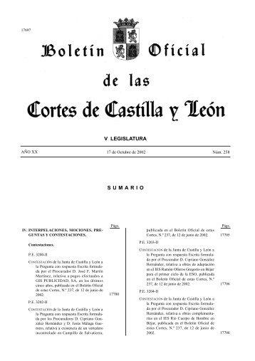 el boletin completo - Cortes de Castilla y León