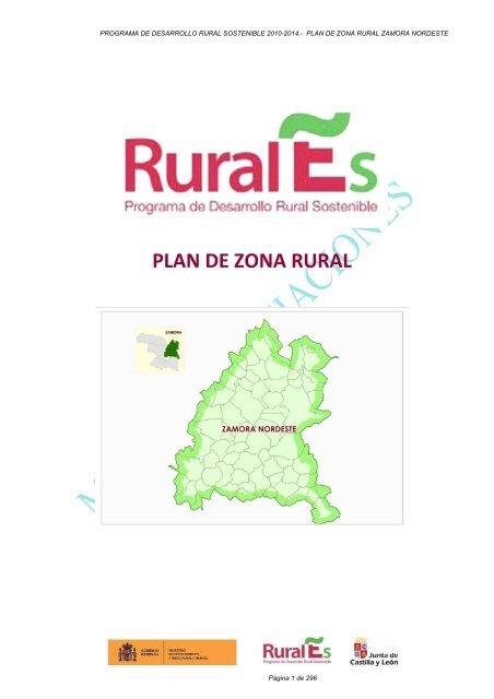 Plan De Zona Zamora Nordeste Junta De Castilla Y León
