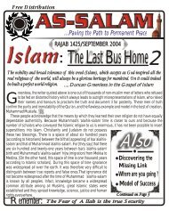 Last Bus Home 2 - Sunnah Lives Online