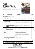 The Spice Tree Tea Collection - Page 2