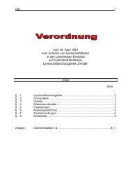 Verordnung Landschaftsschutzgebiet Emstal und ... - Stadt Lingen