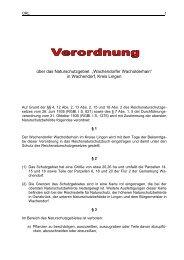Verordnung Naturschutzgebiet Wachendorfer Wacholderhain