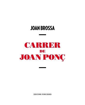 Carrer de Joan Ponç