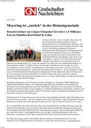Grafschafter Nachrichten - Lindschulte