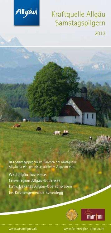 Kraftquelle Allgäu Samstagspilgern - Landkreis Lindau