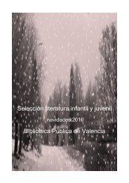 Selección literatura infantil y juvenil Biblioteca Pública de ... - aviso
