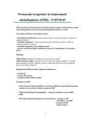 Protocol P-HTM-03-SMD-Dr.Otilia Georgescu, Dr.Aurelia Tatic