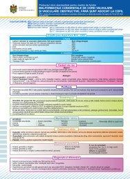 """Protocol clinic standardizat pentru medicii de familie""""Malformaţiile ..."""