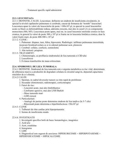 instit.oncol.cluj-napoca- sectia hematologie - 2012