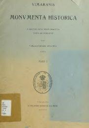 Vimaranis monumenta historica : a saeculo nono post Christum ...