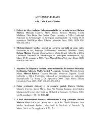 Lista de lucrări