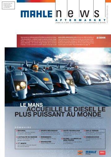 (Autodistribution), Mon Garage (Partners) - Mahle.com