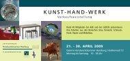 Einladung (PDF, 1 MB) - Arbeitsgemeinschaft des Kunsthandwerks ...