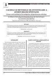 cauzele şi metodele de investigare a avorturilor spontane - medica.ro