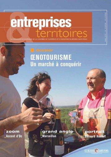 Entreprises & Territoires 19 - juin 2009 - (CCI) Béziers - Saint Pons