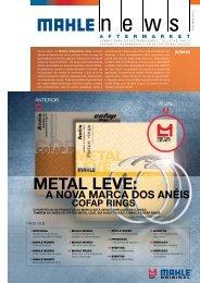 MEtal lEvE: cofap riNgs a Nova Marca dos aNéis - Mahle.com