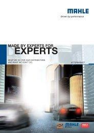 [PDF] EXPERTS - Mahle.com