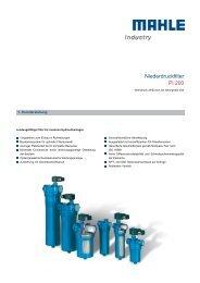 Niederdruckfilter Pi 200 - Mahle.com