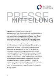 1/4 Abgasturbolader von Bosch Mahle Turbo Systems ... - Mahle.com