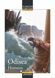 Odisea (primeras páginas) - Anaya Infantil y Juvenil