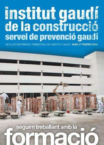 Maquetación 1 - Institut Gaudí de la Construcció