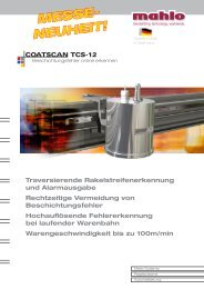 Famacont PMC-12 - Mahlo GmbH