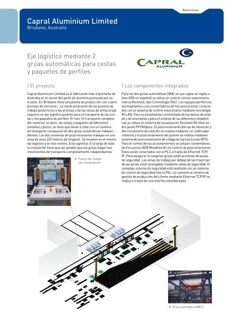 Capral Aluminium Limited - Aberle Automation