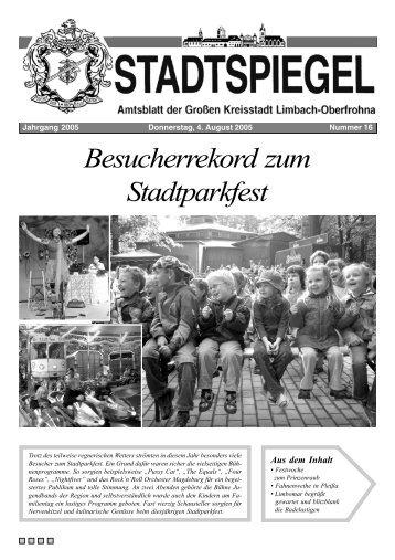 Besucherrekord zum Stadtparkfest - Limbach-Oberfrohna