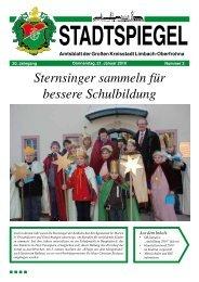 Sternsinger sammeln für bessere Schulbildung - Limbach-Oberfrohna