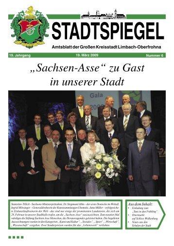 Stadtspiegel 6-09.indd - Stadt Limbach-Oberfrohna