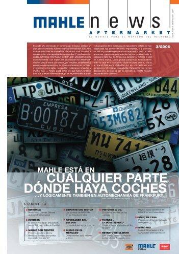CUALQUIER PARTE DÓNDE HAYA COCHES - Mahle.com