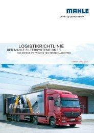 LOGISTIkRICHTLINIE - Mahle.com