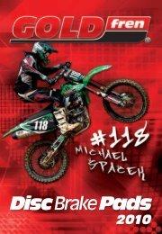 Disc Brake Pads - RMC Motor