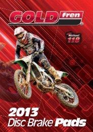 Disc Brake Pads - GOLDfren USA