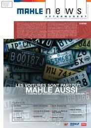 LES VOITURES SONT PARTOUT, - Mahle.com
