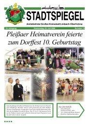 Stadtspiegel 15-09.indd - Stadt Limbach-Oberfrohna