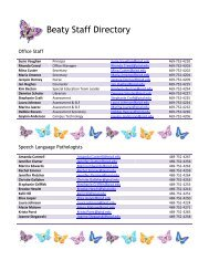 Beaty Staff Directory