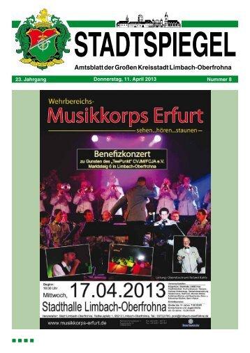 Stadtspiegel 08-13.pdf - Limbach-Oberfrohna