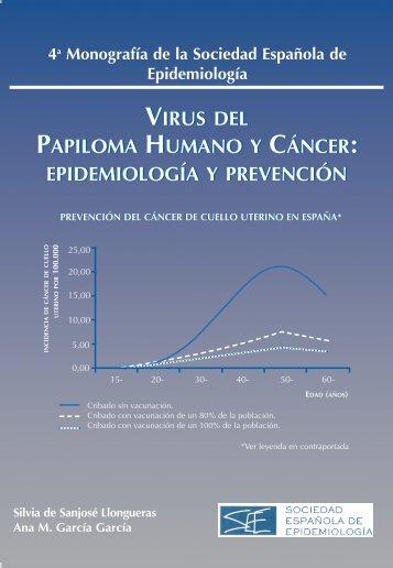 virus del papiloma humano y cáncer: epidemiología y prevención ...