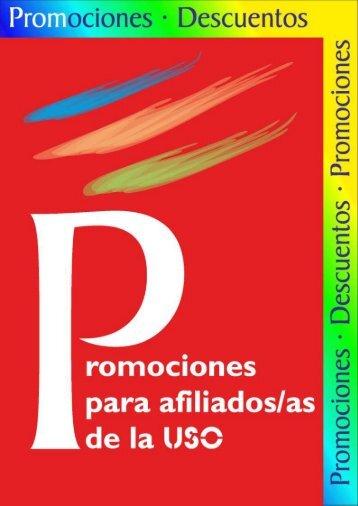 Promociones y Descuentos Abril 2013 - FEP-USO