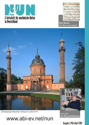 NUN - Ausgabe 3, März/April 2006 - Akademischer Bund Interkulturell