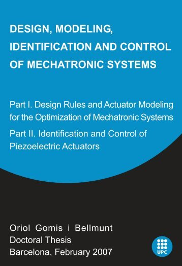 design, modeling, identification and control of mechatronic ... - Tesis
