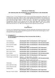 Satzung zur Änderung der Satzung über die Festlegung ... - Lilienthal