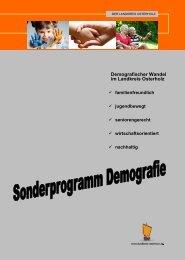 Demografie im Landkreis Osterholz - Lilienthal