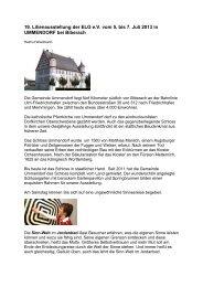 19. Lilienausstellung der ELG e.V. vom 5. bis 7. Juli 2013 in ...